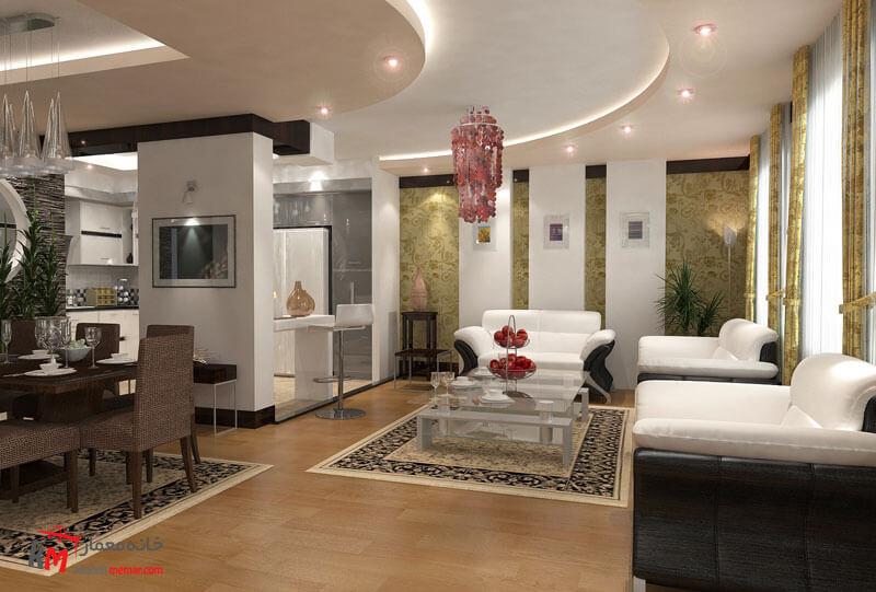 طراحی دکوراسیون داخلی505-02 |خانه معمار