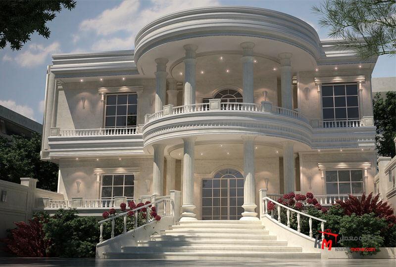 طراحی نما نمونه 18-01 |خانه معمار