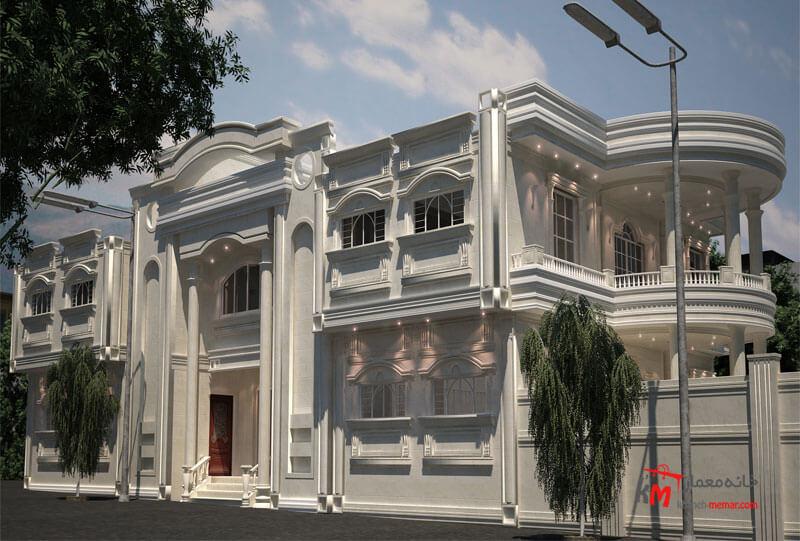 طراحی نما نمونه 18-02 |خانه معمار