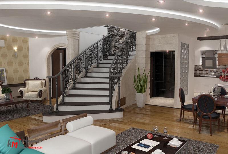 طراحی دکوراسیون داخلی 541-04|خانه معمار