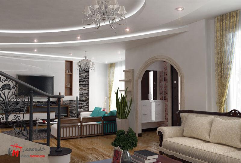 طراحی دکوراسیون داخلی 541-07|خانه معمار