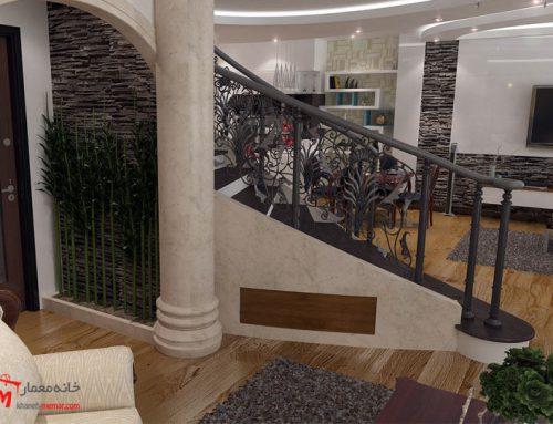 طراحی دکوراسیون منزل بلوار باهنر جنوبی