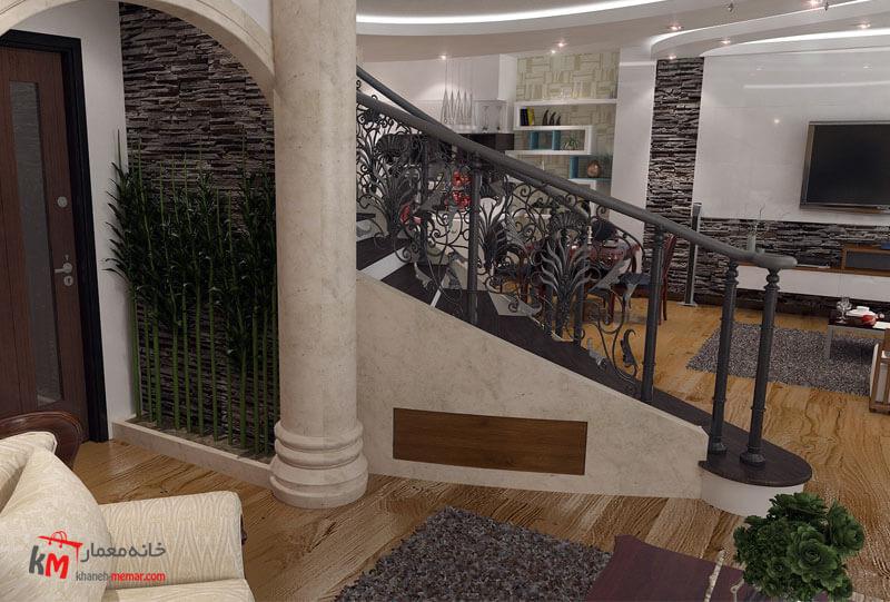 طراحی دکوراسیون داخلی 541-08|خانه معمار