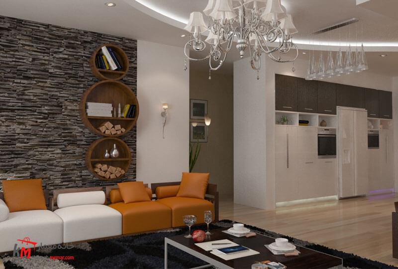طراحی دکوراسیون داخلی 548- 07|خانه معمار