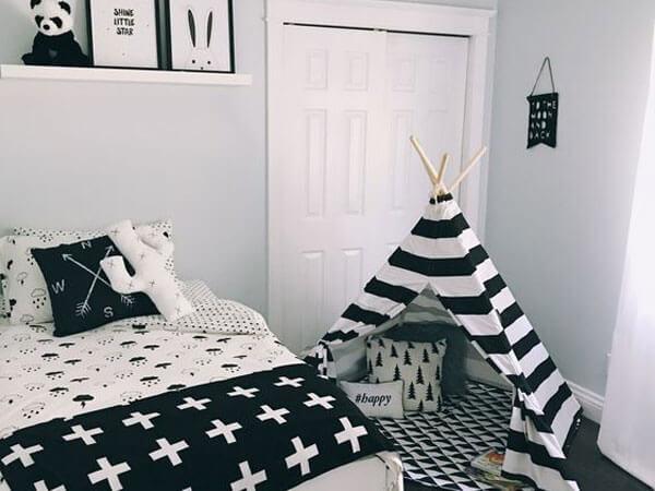 ترکیب رنگ مشکی و سفید