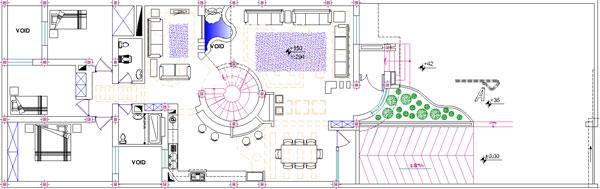 همکف دانلود نقشه معماری