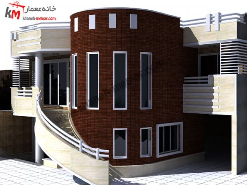پلان دو طبقه