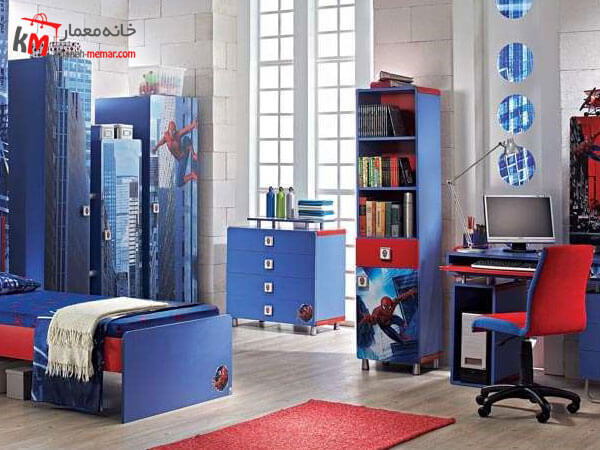 دکوراسیون داخلی اتاق خواب پسرانه دکوراسیون داخلی اتاق خواب پسرانه با ایده های نوآورانه