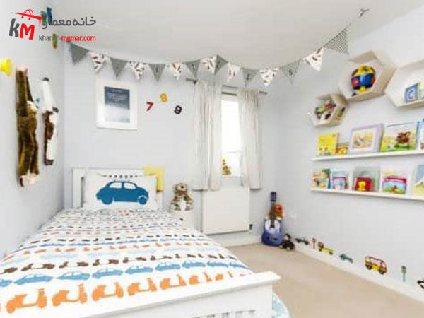 دکوراسیون داخلی اتاق خواب پسرانه نقش دیوار ها در دکوراسیون اتاق خواب