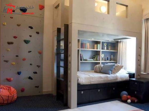 دکوراسیون داخلی اتاق خواب پسرانه طراحی داخلی اتاق خواب پسرانه نوجوان