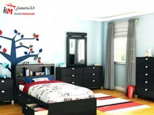 دیزاین اتاق خواب پسران