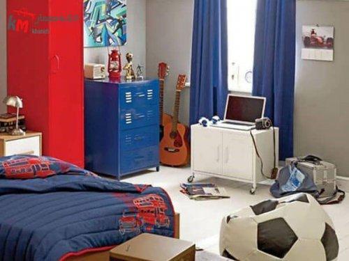 دیزاین اتاق پسر نوجوان