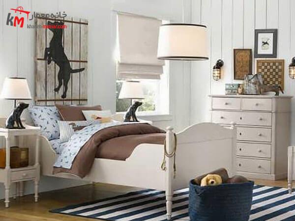 دیزاین اتاق خواب پسران نوجوان پسرها اتاقی برای بازیگوشی و شیطنت می خواهند