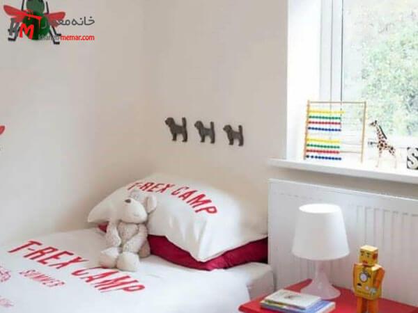 دکوراسیون داخلی اتاق خواب پسرانه رنگ در دکوراسیون اتاق خواب پسرانه