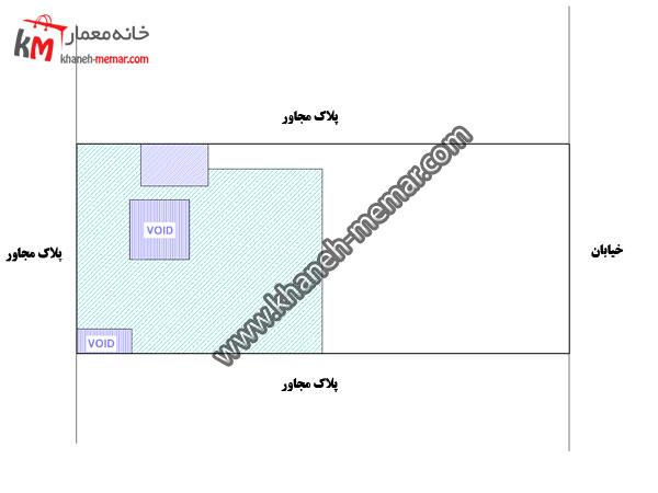 نقشه خانه سه طبقه
