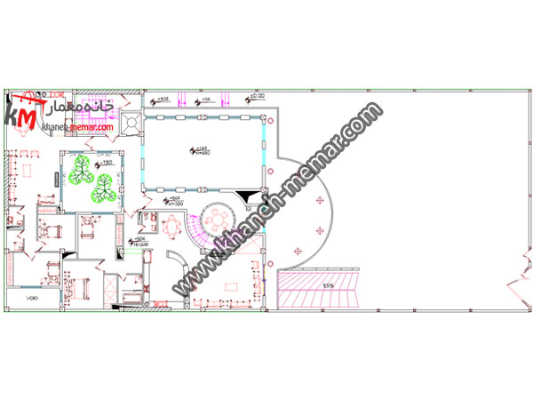 نقشه خانه طبقه اول