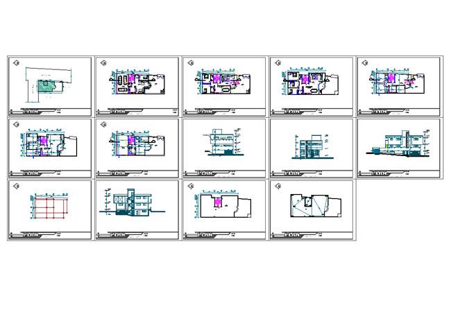 دانلود معماری مسکونی23×10