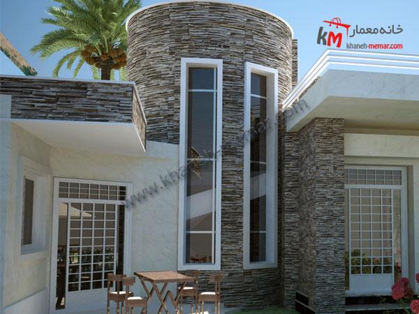 خانه یک طبقه 30×14.5