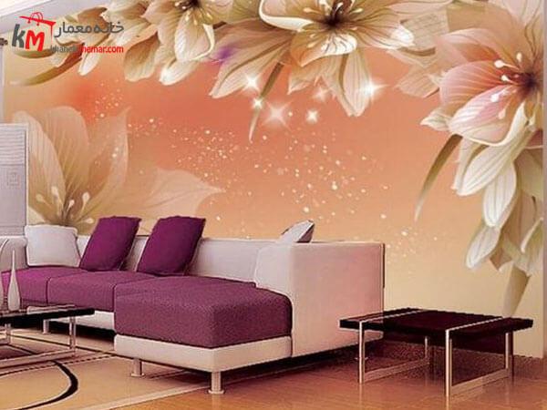 کاغذ دیواری با طرح های رویایی
