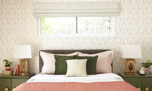 پرطرفدارترین رنگ ها برای اتاق خواب دخترانه تلفیق رنگهای صورتی،مشکی و طلایی