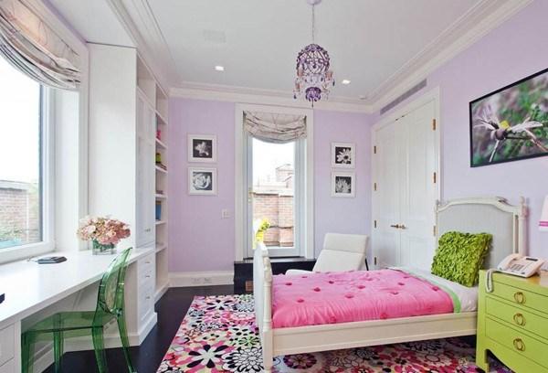 پرطرفدارترین رنگ ها برای اتاق خواب دخترانه و رنگهای خسته کننده برایاتاق خواب دخترانه