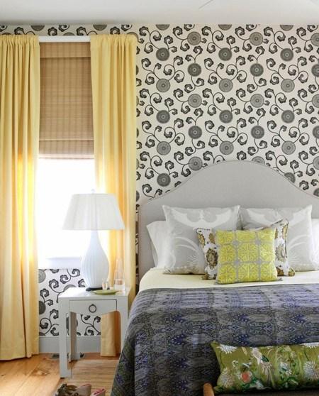 ترکیب فوق العاده رنگهای سبز تیره و نارنجی هلویی پرطرفدارترین رنگ ها برای اتاق خواب دخترانه