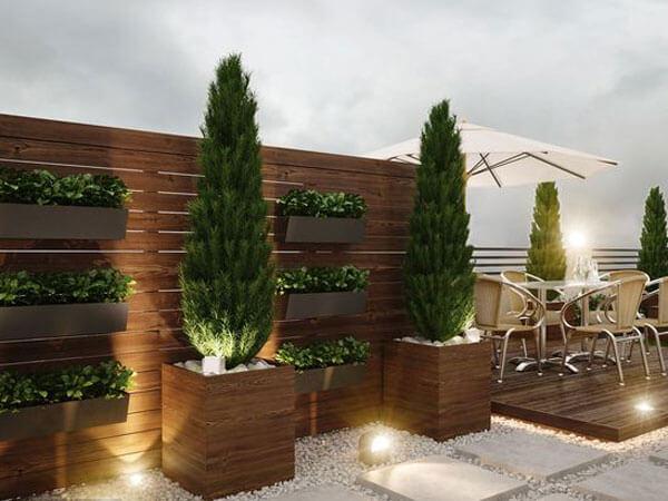 بام سبز یا روف گاردن بر روی پشت بام