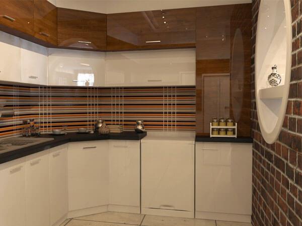 استفاده از بین کابینی در آشپزخانه