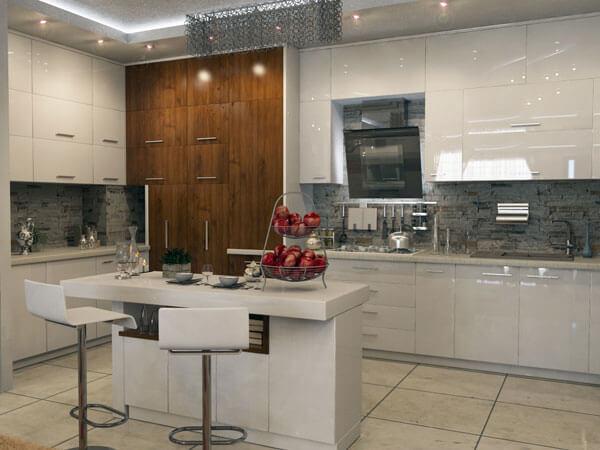 دکور آشپزخانه و میز کانتر