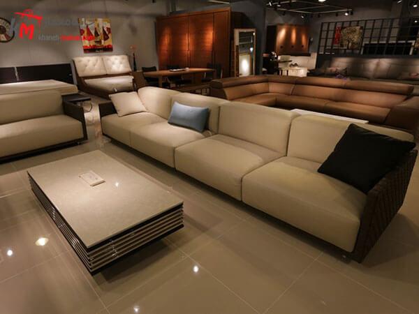 مبل ال شکل مبلمان فلزی و چوبی مناسب برای مکان های اداری و مسکونی
