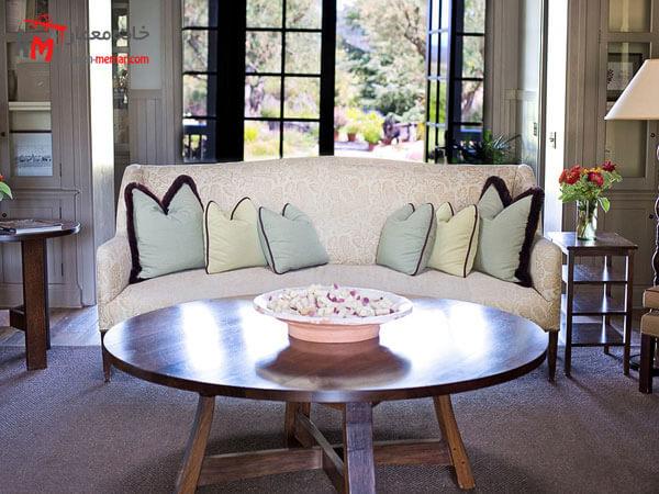 مبل راحتی Relief sofa مبلمان فلزی و چوبی بسیار شیک و مدرن و بروز