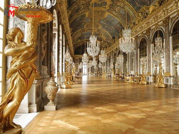 استفاده از پارکت در کاخ های فرانسوی تاریخچه ی استفاده از پارکت