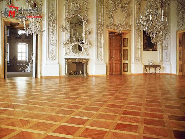 تاریخچه ی استفاده از پارکت استفاده از پارکت در کاخ های فرانسوی