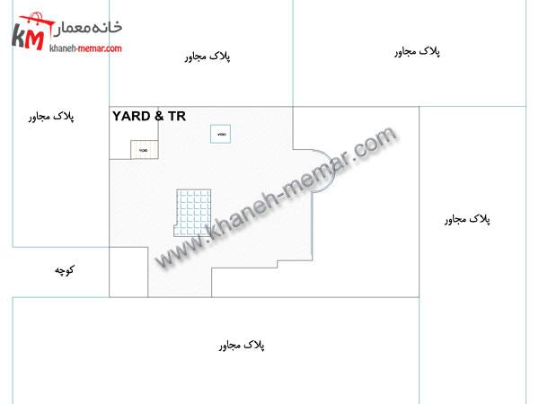 نقشه ساختمان مدرن