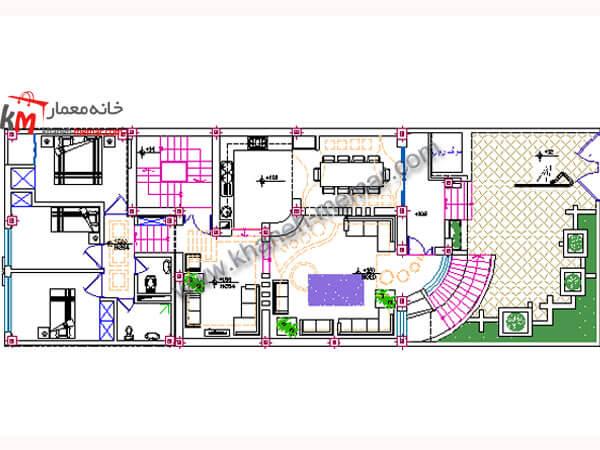 منزل ویلایی 381-3