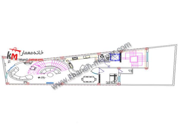 نقشه رایگان دوبلکس 490-03