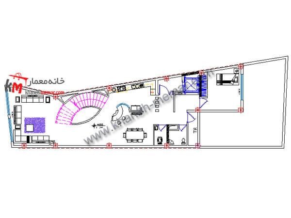 نقشه رایگان دوبلکس 490-04