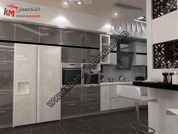 طراحی کابینتهای آشپزخانه