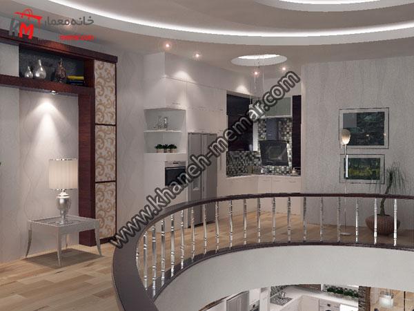 اشپزخانه پنتری طبقه اول