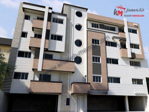 معماری ساختمان مسکونی