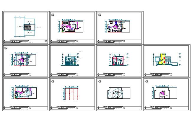 نقشه ساختمان مسکونی 200 متری|نقشه خانه سه خوابه 200 متری شمالی