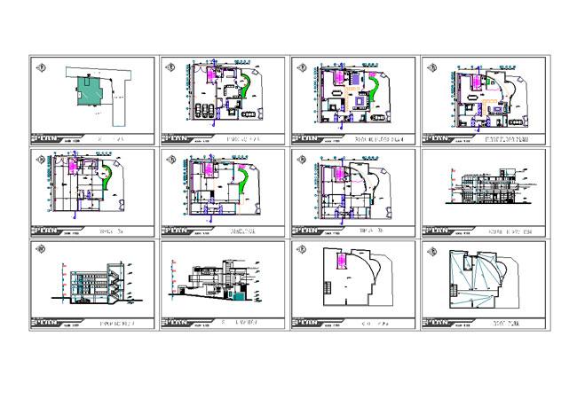 طراحی نقشه ساختمان در یک زمین
