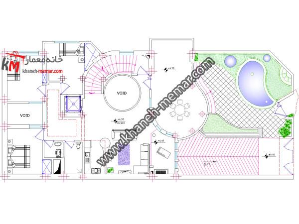 اجرائی نقشه طراحی نقشه ساختمان مسکونی