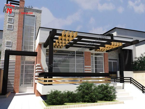 پلان خانه یک طبقه