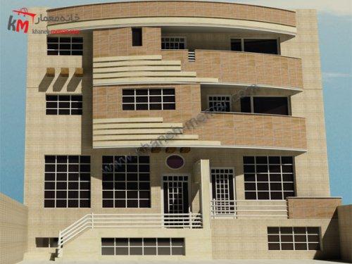 پلان آپارتمان 4 طبقه