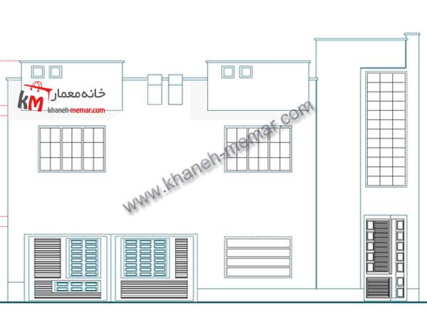 طراحی نقشه خانه مسکونی 327-2