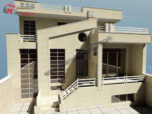 ساختمان مسکونی 3 طبقه