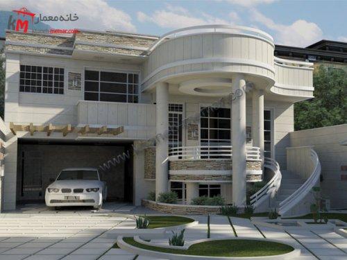 پلان خانه ویلایی