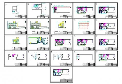 پیشنمایش پلان معماری ویلایی