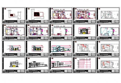 نقشه خانه سه خوابه 200 متری |نقشه خانه ویلایی 200 متری